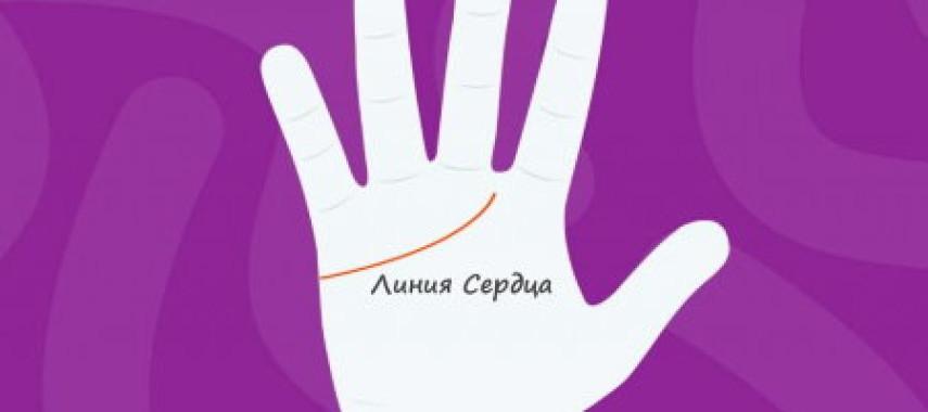 Гадание по линии сердца на руке