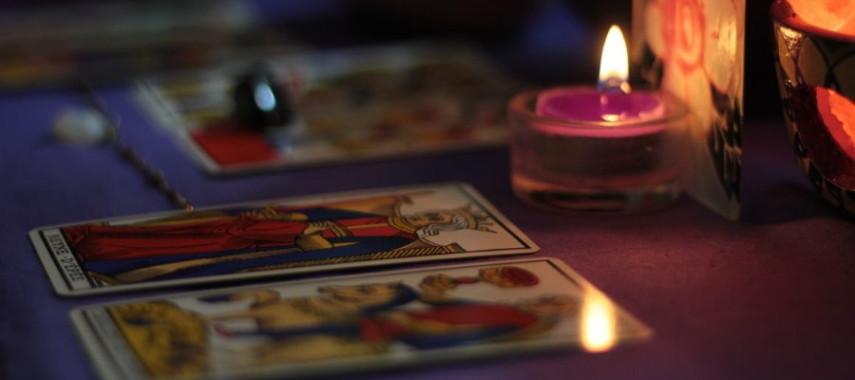 Гадание на отношения на 4 картах Таро Уэйта