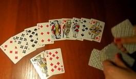 Гадание на будущее на 3 игральных картах